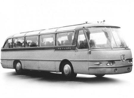 """ЛАЗ """"Україна-1″ – автобус підвищеної комфортності"""