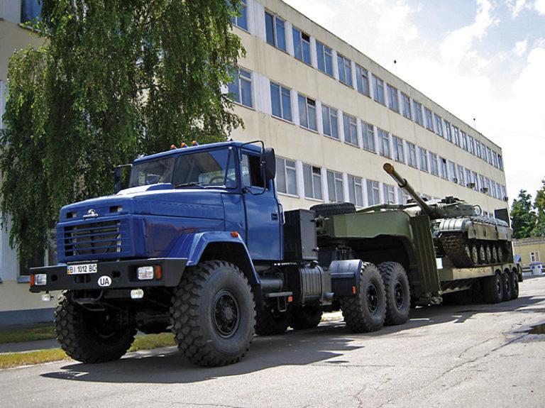 КрАЗ «Бурлак» – український супертягач для екстремальних умов
