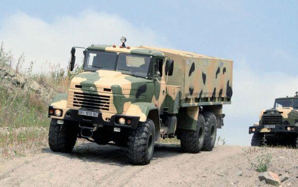 КрАЗ-6322 «Солдат» продемонстрував вражаючі позашляхові можливості