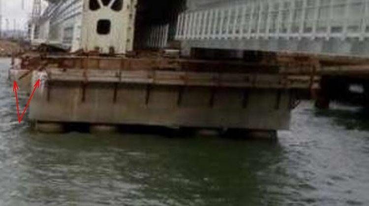 У мережі з'явилися фото руйнування Кримського моста