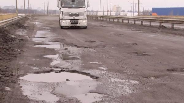Поліцейські показали «найгіршу дорогу». Вона під Києвом