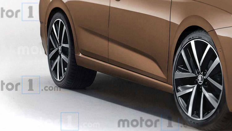 Як буде виглядати нова Skoda Octavia 2020