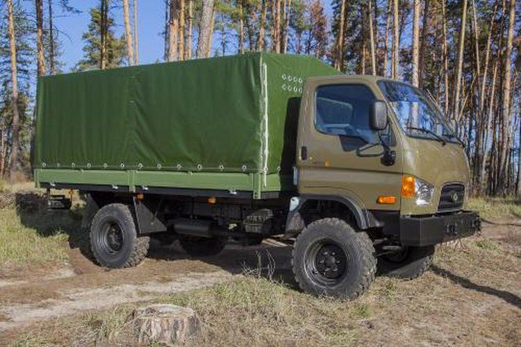 «Богдан» показав заміну радянському ГАЗ-66