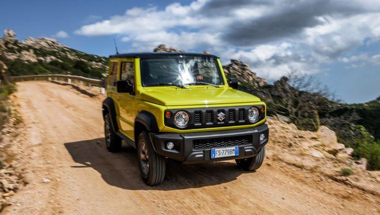 Майже «Кубик»: Suzuki розсекретила топову комплектацію нового Jimny