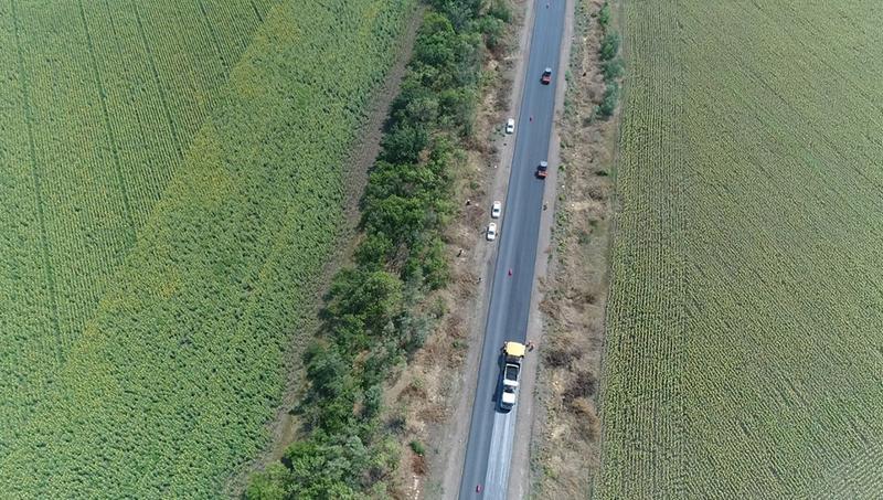 Трасса «Мариуполь-Запорожье»: Укравтодор показал фото с высоты