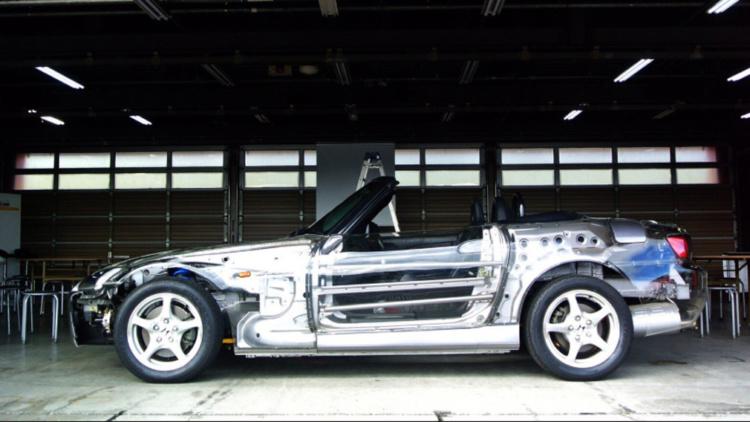 В мережі показали повністю прозорий автомобіль