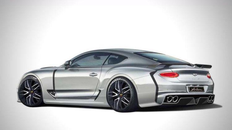 Bentley Continental GT отримав незвичну версію