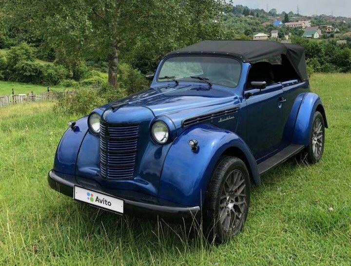 Старий Москвич з 126-сильним мотором продають за $23 тисячі
