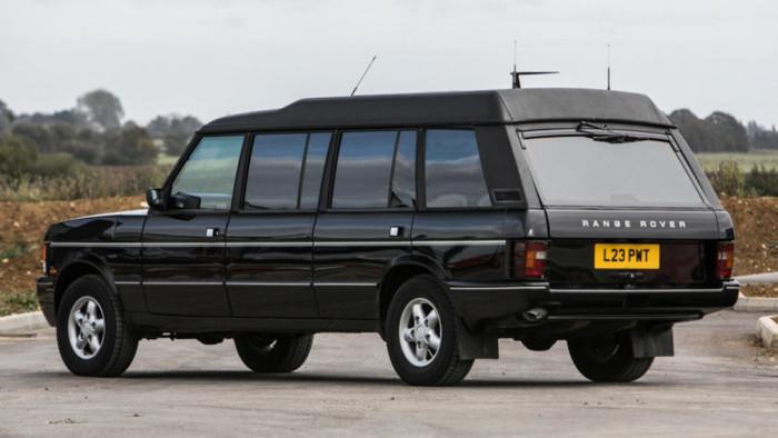 Унікальний лімузин Range Rover піде з молотка