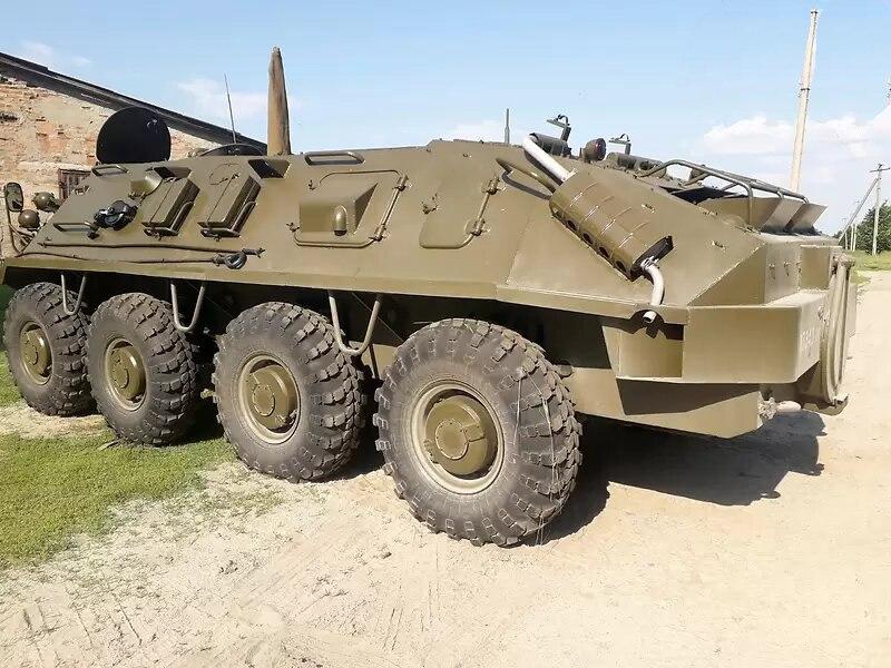 В Украине выставили на продажу БТР-60 ПБ почти без пробега